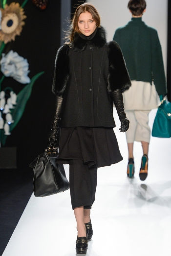 Mulberry Fall 2013 Runway picture from vogue.com