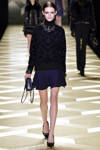 Roberto Cavalli Fall 2013 Runway picture from vogue.com