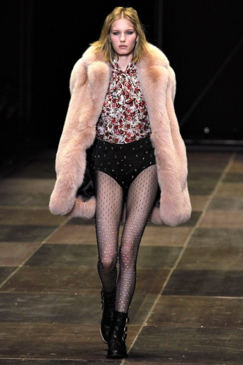 Saint Laurent Fall 2013 Runway picture from vogue.com