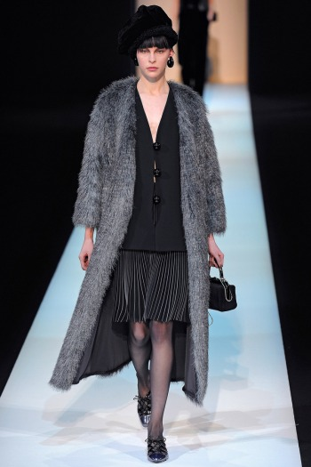Gorgio Armani Fall 2013 Runway picture from vogue.com