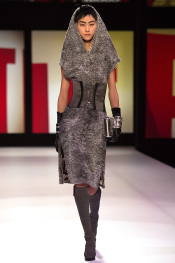 Jean Paul Gaultier Fall 2013 Runway picture from vogue.com