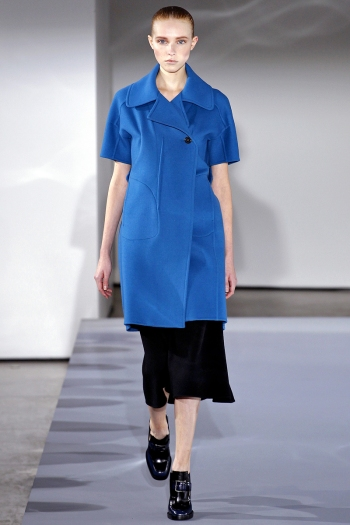 Jil Sander Fall 2013 Runway picture from vogue.com