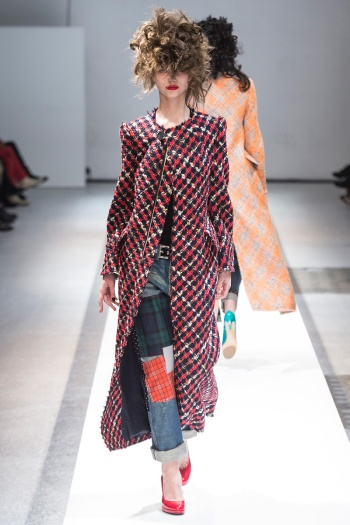 Junya Watanabe Fall 2013 Runway picture from vogue.com