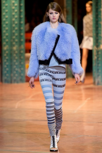 Kenzo Fall 2013 Runway picture from vogue.com