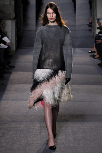 Proenza Schouler Fall 2013 Runway picture from vogue.com