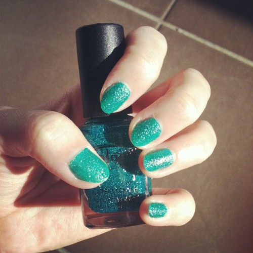 Nice teal shimmer-Color Club Untamed Luxury