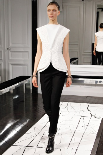 Balenciaga Fall 2013 Runway picture from vogue..com