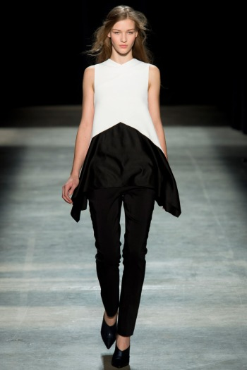 Narciso Rodriguez Fall 2013 Runway picture from vogue.com