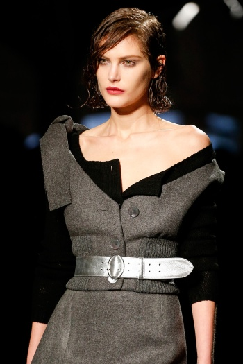 Prada Fall 2013 Runway picture from vogue.com