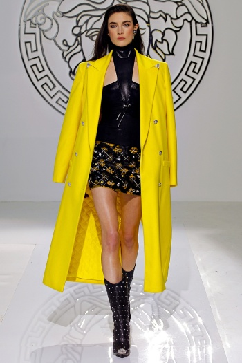 Versace Fall 2013 Runway picture from vogue.com