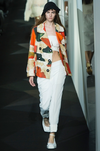 Acne Spring 2014 Runway picture from vogue.com