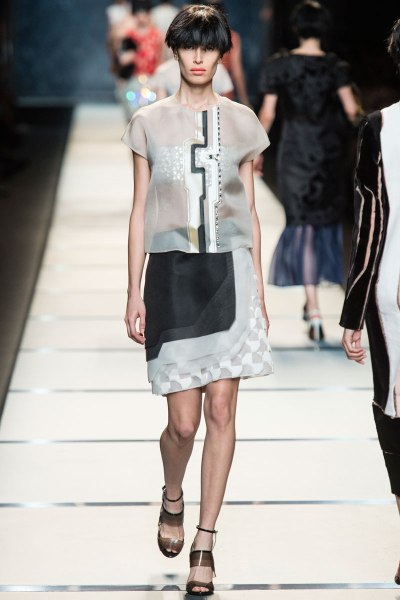 Fendi Spring 2014 Runway picture from vogue.com
