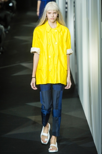 Acne Spring 2014 Runway picture from vogue.ocm