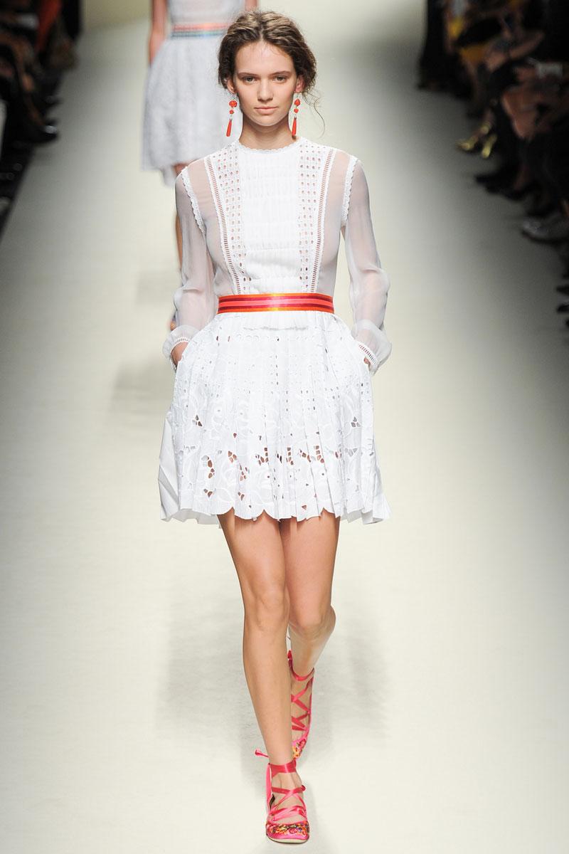 Fashion style Spring aquascutum runway for lady