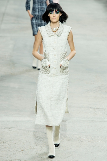 Chanel Spring 2014 Runway picture from vogue.com