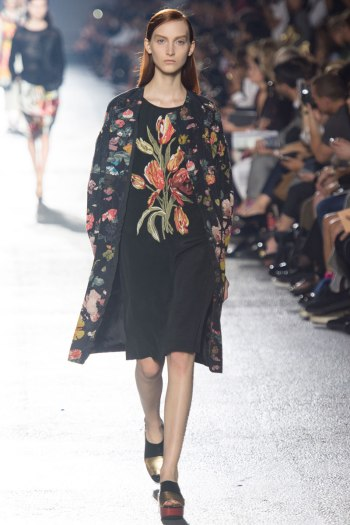 Dries Van Noten Spring 2014 Runway picture from vogue.com
