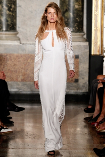 Emilio Pucci Spring 2014 Runway picture from vouge.com