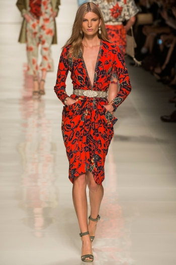 Etro Spring 2014 Runway picture from vogue.com