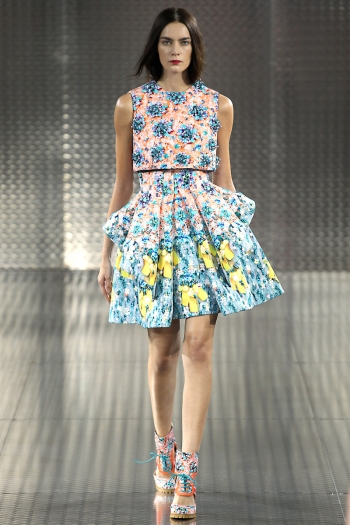 Mary Katrantzou Spring 2014 Runway picture from vogue.com