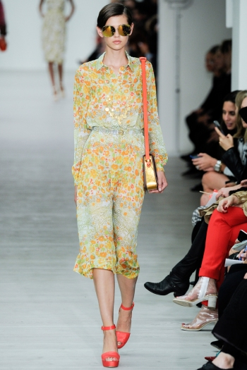 Matthew Williamson Spring 2014 Runway picture from vogue.com