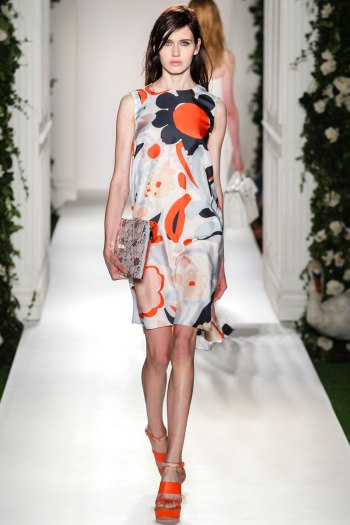 Mulberry Spring 2014 Runway picture from vogue.com