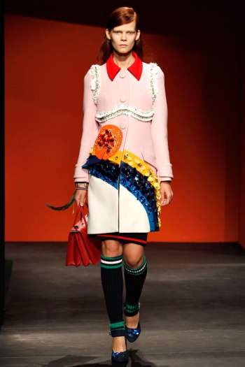 Prada Spring 2014 Runway picture from vogue.com
