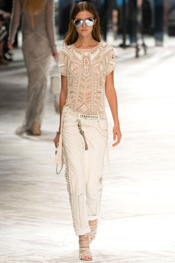 Roberto Cavalli Spring 2014 Runway picture from vogue.cdom