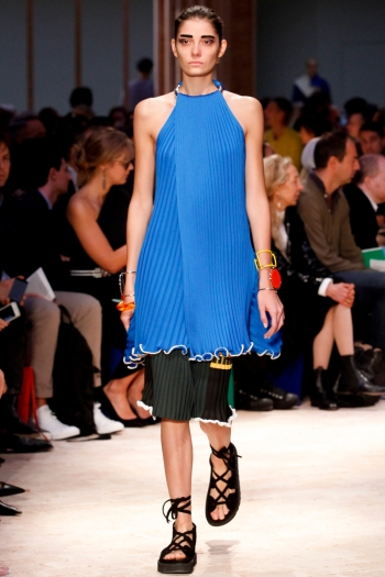 Celine Spring 2014 Runway pictrue from vogue.com