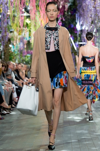 Christian Dior Spring 2014 Runway picture from vogue.com