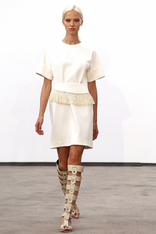 Derek Lam Spring 2014 Runway picture from vogue.com