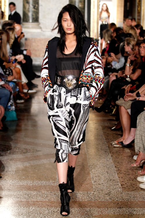 Emilio Pucci Spring 2014 Runway picture from vogue.com