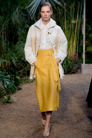 Hermes Spring 2014 Runway picture from vogue.com