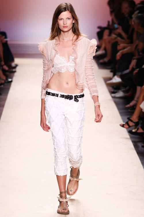 Isabel Marant Spring 2014 Runway picture from vogue.com