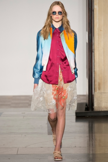 Jonathan Saunders Spring 2014 Runway picture from vogue.com