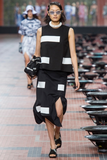 Kenzo Spring 2014 Runway picture from vogue.com