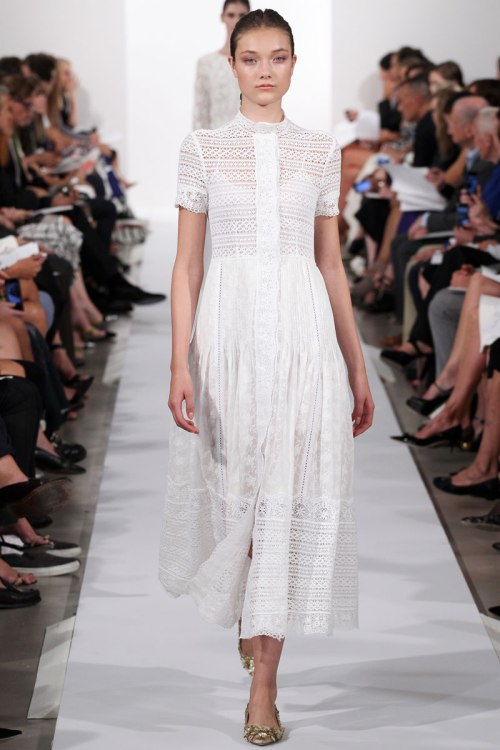 Oscar de la Renta Spring 2014 Runway picture from vogue.com