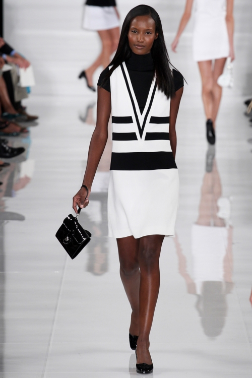Ralph Lauren Spring 2014 Runway picture from vogue.com