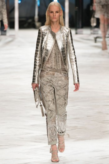 Roberto Cavalli Spring 2014 Runway pictutre from vogue.com