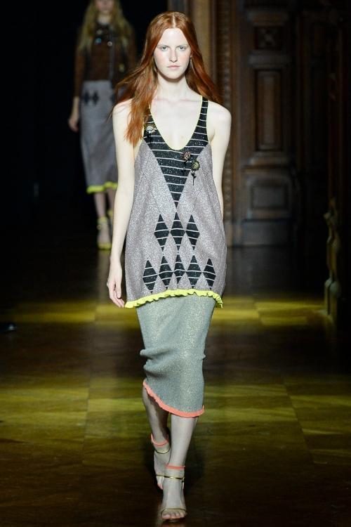 Sonia Rykiel Spring 2014 Runway picture from vogue.com