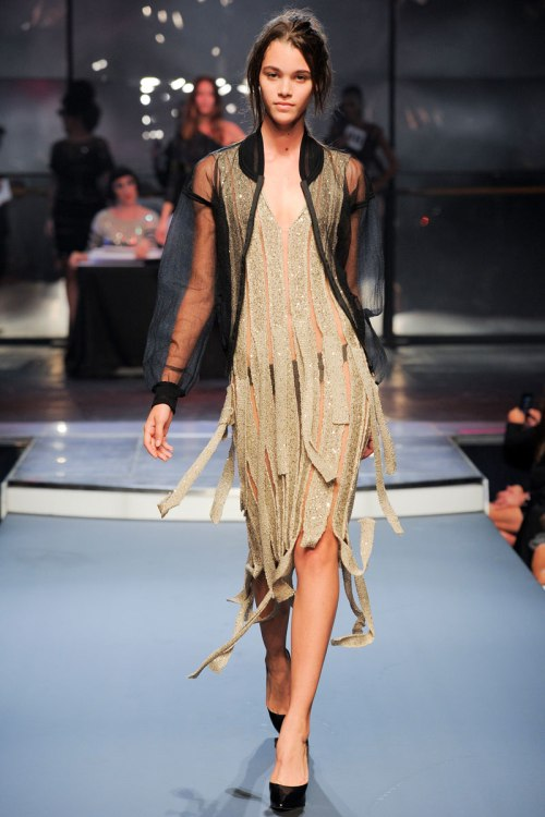 Jean Paul Gaultier Spring 2014 Runway picture from vogue.com