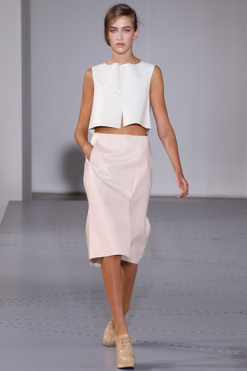 Jil Sander Spring 2014 Runway picture from vogue.com