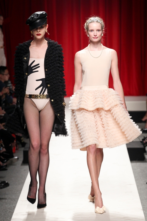 Moschino Spring 2O14 Runway picture from vogue.com