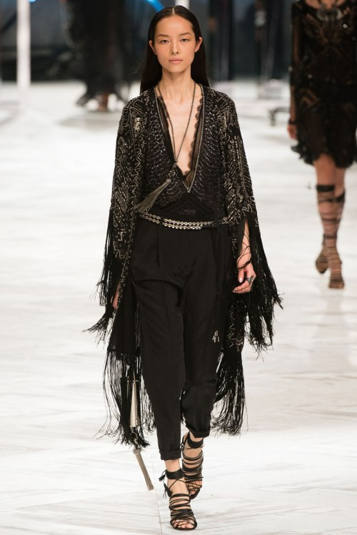 Roberto Cavalli Spring 2014 Runway picture from vogue.com