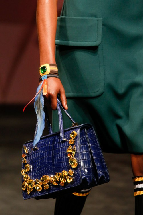 Prada Spring 2014 Runway picutre from vogue.com