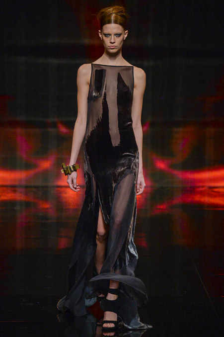 Donna Karan Fall 2014 Runway picture from vogue.com