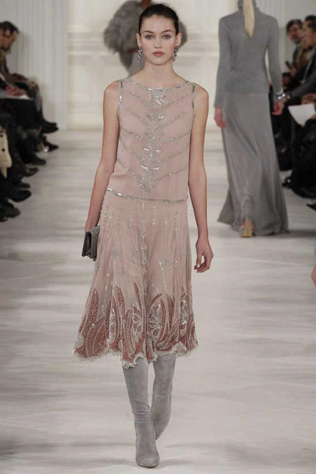 Ralph Lauren Fall 2014 Runway picture from vogue.com