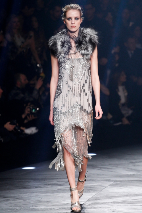 Roberto Cavalli Fall 2014 Runway picture from vogue.com