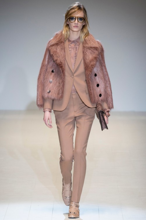 Gucci Fall 2014 Runway picture from vogue.com