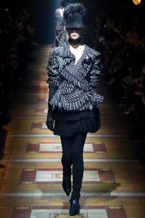Lanvin Fall 2014 Runway picture from vogue.com
