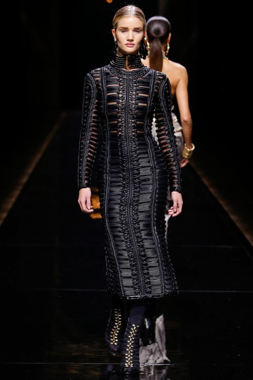 Balmain Fall 2014 Runway picture via vogue